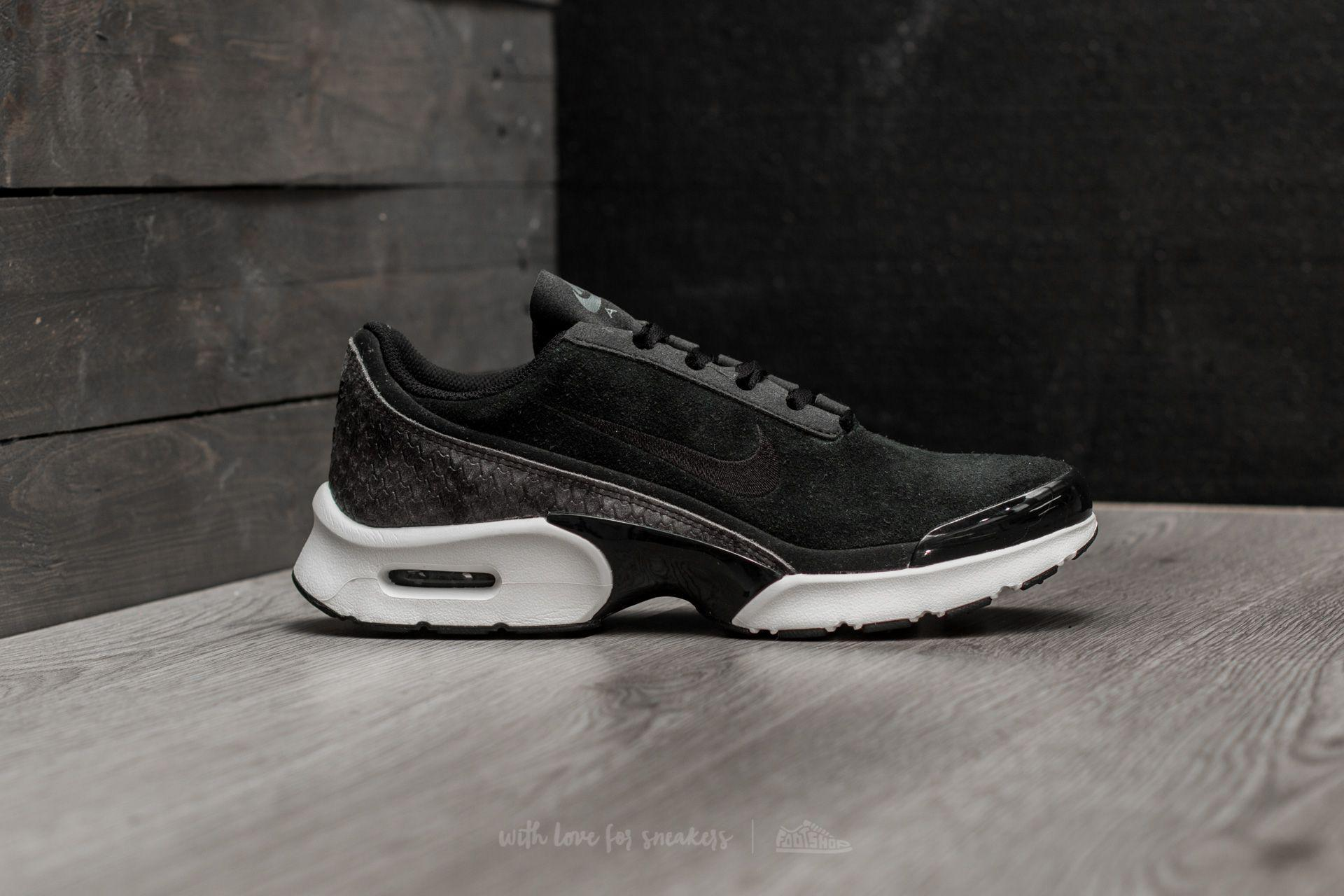 Nike Casual Air Max Jewell Premium Textile Black Black Sail Dark Grey