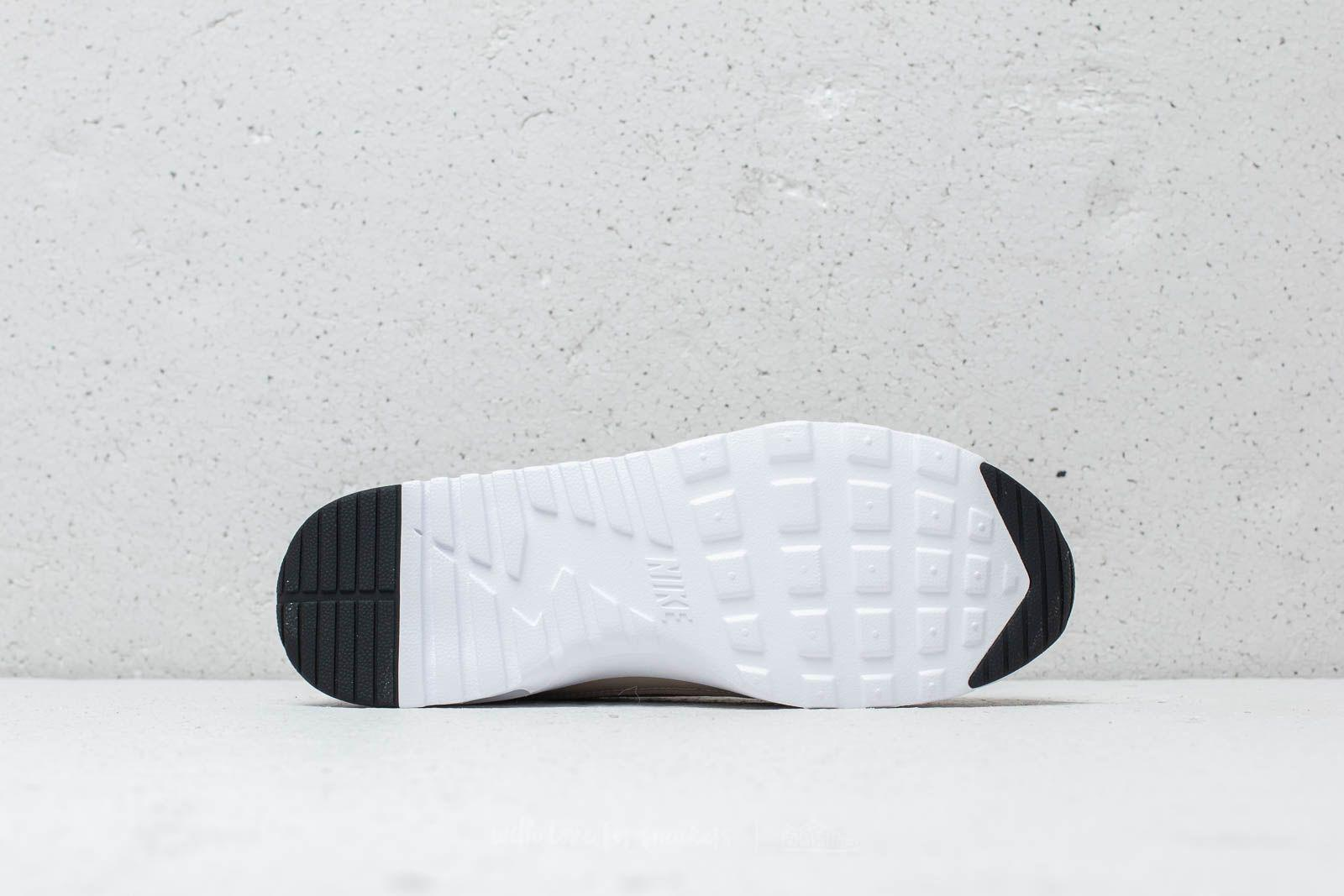 f9a6b4fae4c0 Lyst - Nike Wmns Air Max Thea String  Light Cream-black-white in White