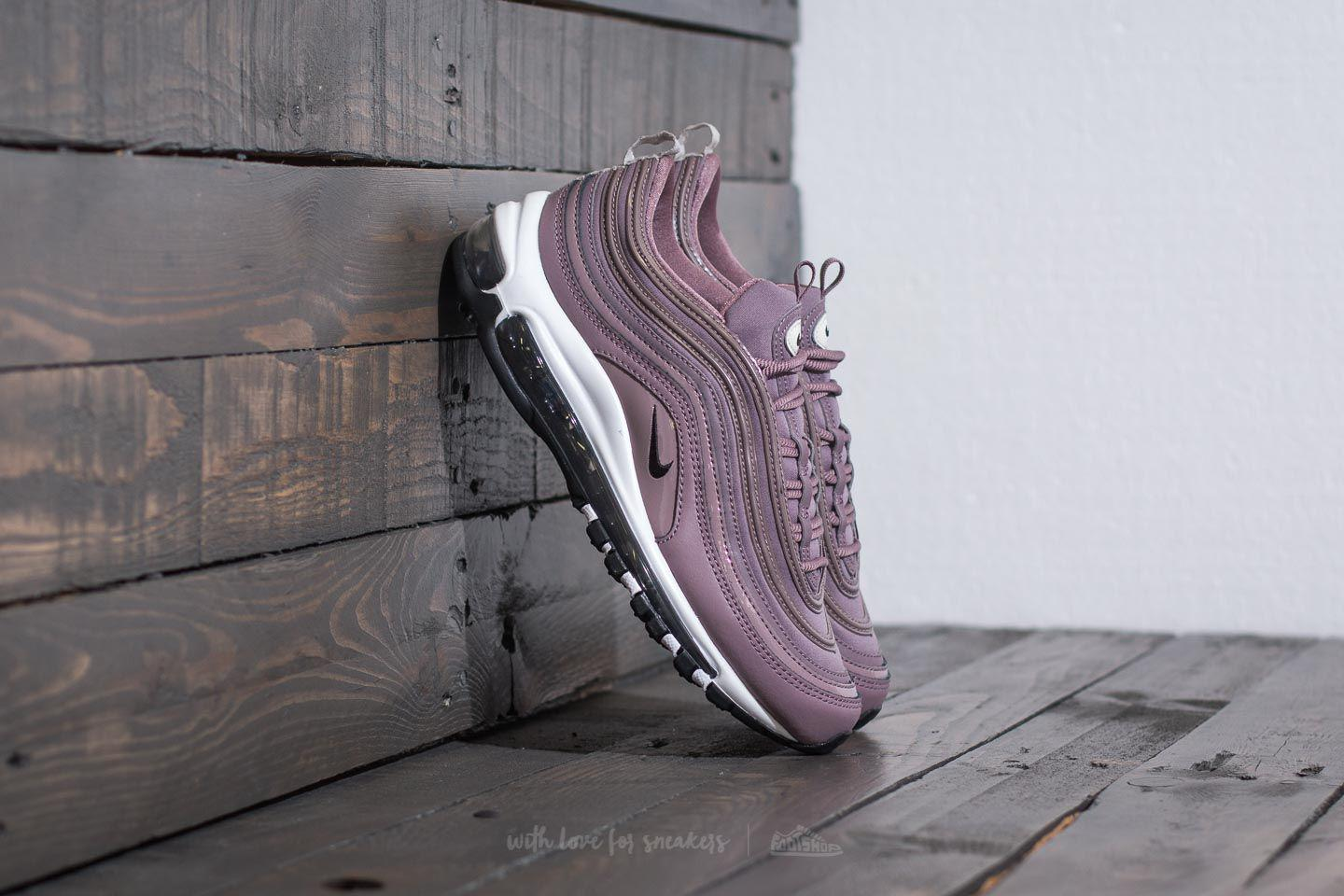 best service 952e0 7b87a Nike W Air Max 97 Premium Taupe Grey  Light Bone  Black in Gray - Lyst