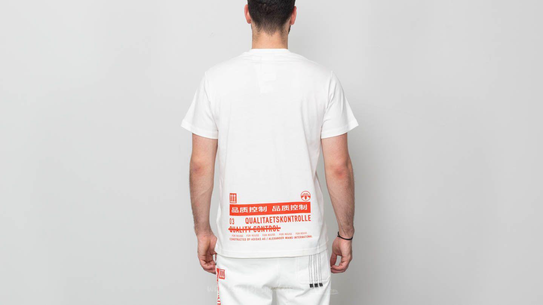 522f2e0f adidas Originals Adidas X Alexander Wang Graphic Tee Core White ...