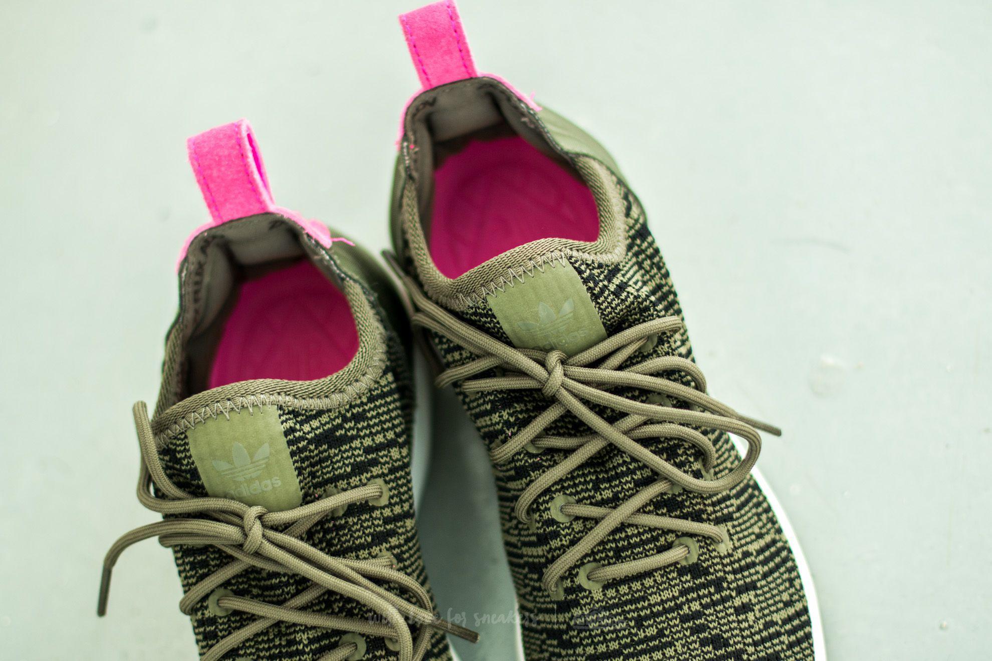 e9d49ad981d4b Lyst - adidas Originals Adidas Zx Flux Adv Virtue Sock W Olive Cargo ...