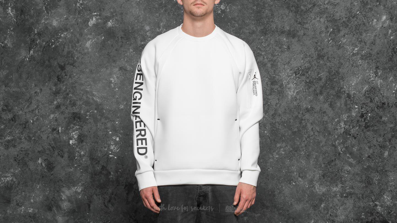 9f3635491f4648 Nike Sportswear Flight Tech Shield Crew Summit White in White for ...