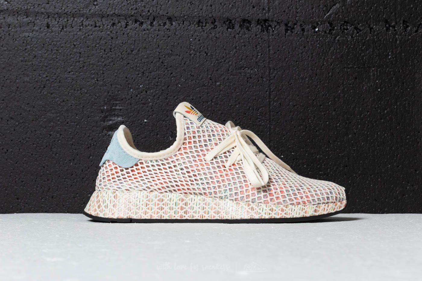 lowest price 512a5 ebd66 Lyst - adidas Originals Adidas Deerupt Pride Cream White Ash