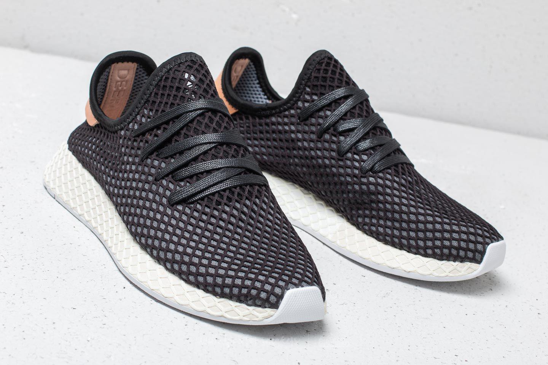 6086ee1f8107 Lyst - adidas Originals Adidas Deerupt Runner Core Black  Core Black ...
