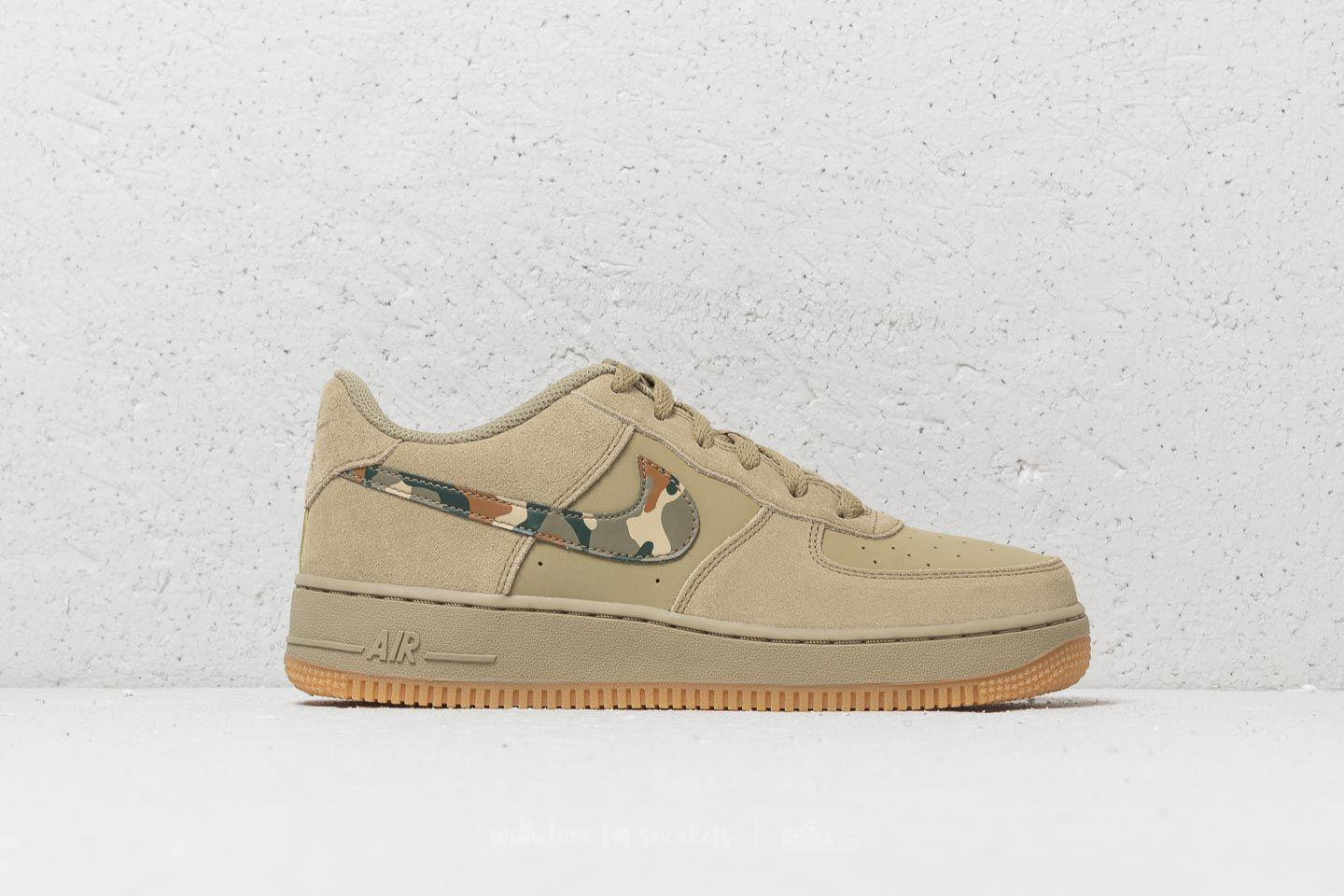finest selection 5730f bbeda Lyst - Nike Air Force 1 (gs) Neutral Olive  Black