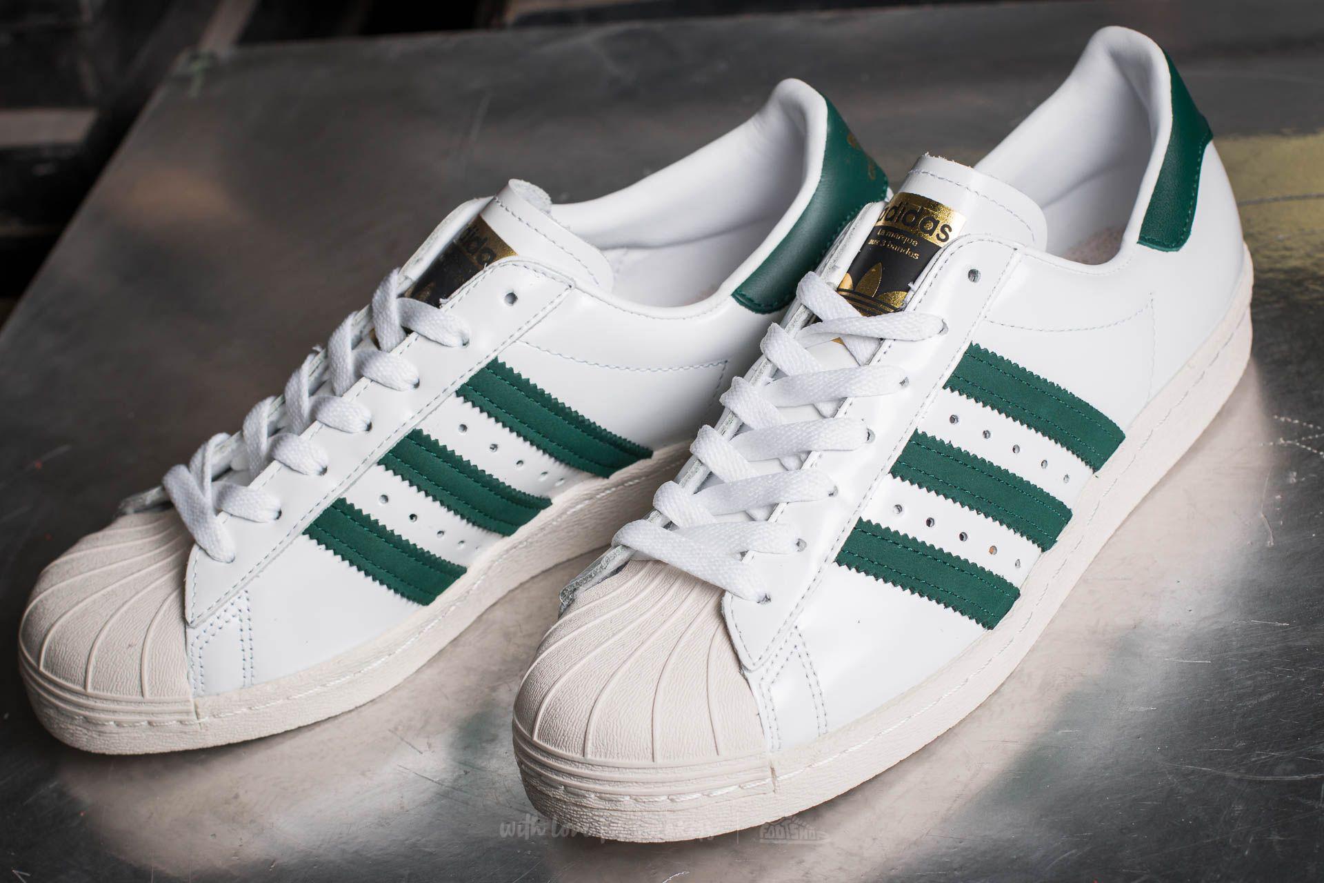 adidas Superstar 80s (Ftwr White Ftwr White Gold Metallic)