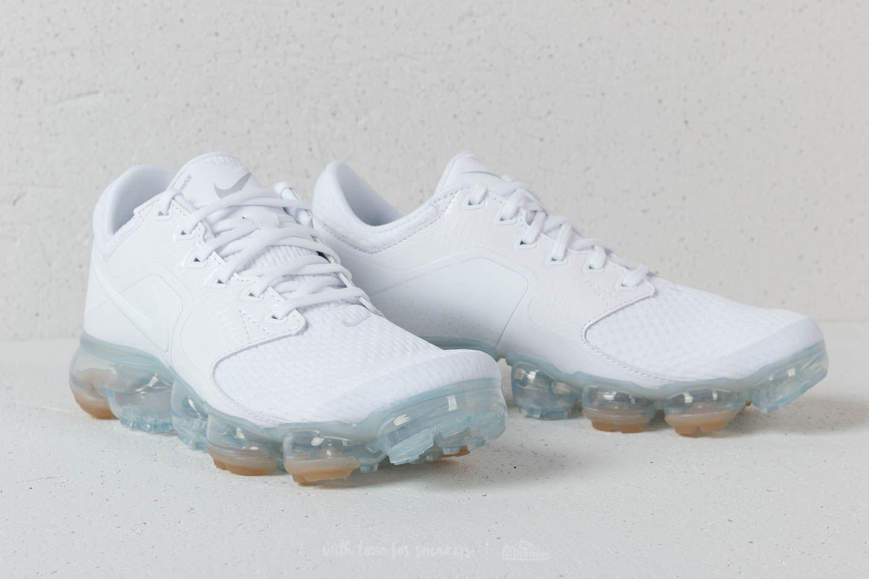 834f8f41257 Lyst - Nike Air Vapormax (gs) White  White- Metallic Silver in White