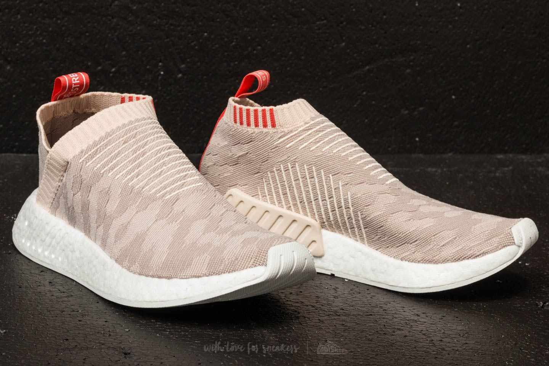 Lyst - adidas Originals Adidas Nmd cs2 Primeknit W Linen  Vapor Grey ... fbe1f8ea8