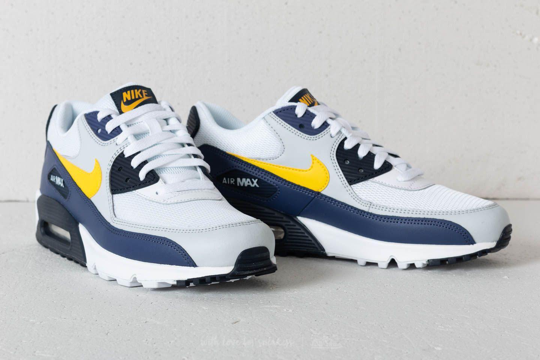db7fd536db23 Lyst - Nike Air Max 90 Essential White  Tour Yellow-blue Recall in ...