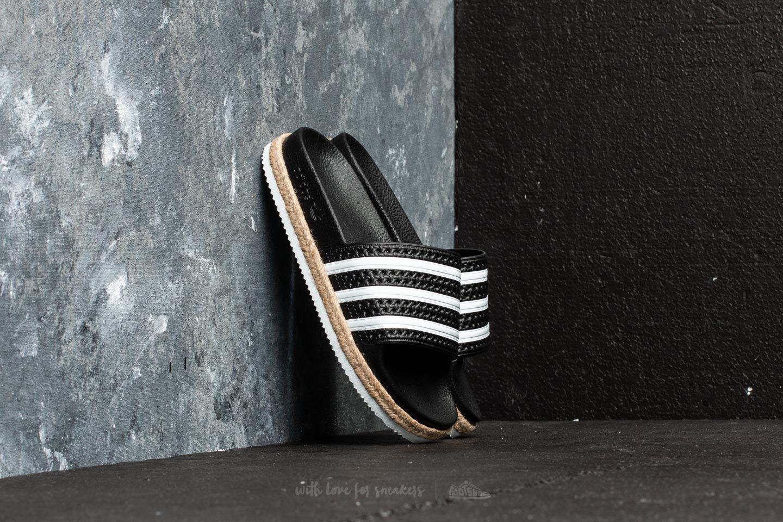 Adidas Adilette New Bold W Core Black/ FTW White/ FTW White footshop grigio Precios De Descuento F3Xzyy