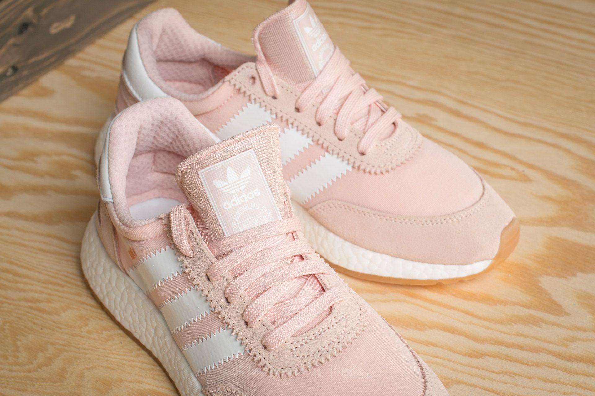 Lyst - adidas Originals Adidas Iniki Runner W Icey Pink  Ftw White  Gum 39e554350