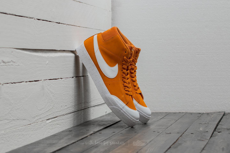 2018a2694d933 Lyst - Nike Sb Blazer Zoom Mid Xt Circuit Orange  White for Men
