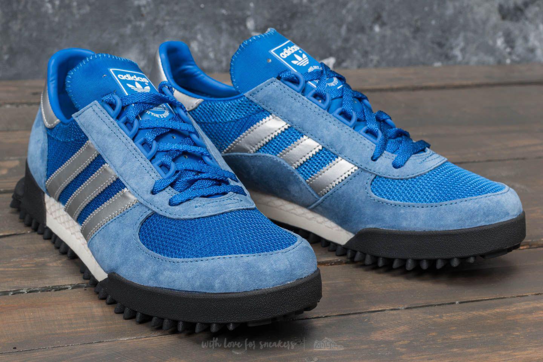 lyst adidas originals adidas marathon tr spur royal / blau / kern