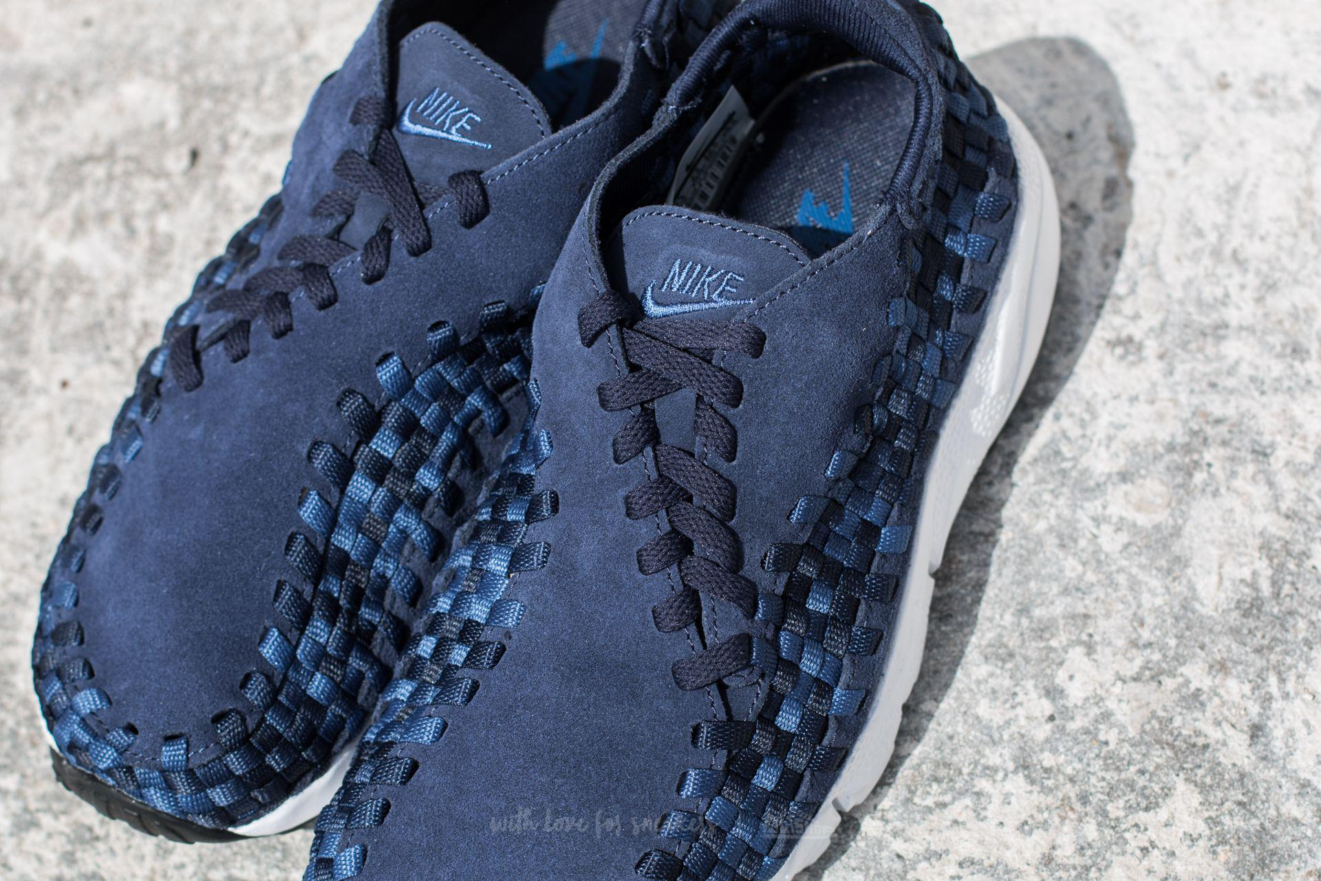 3911712a842 Lyst - Nike Air Footscape Woven Nm Binary Blue  Team Royal-black in ...