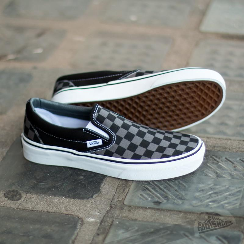 vans checkerboard shoes pewter