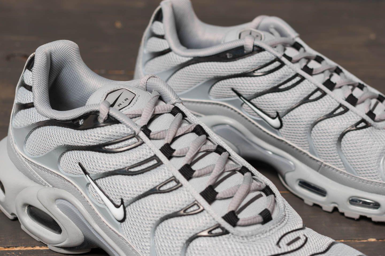 2b9edacf77f Lyst - Nike Air Max Plus Wolf Grey  White  Black in Gray for Men