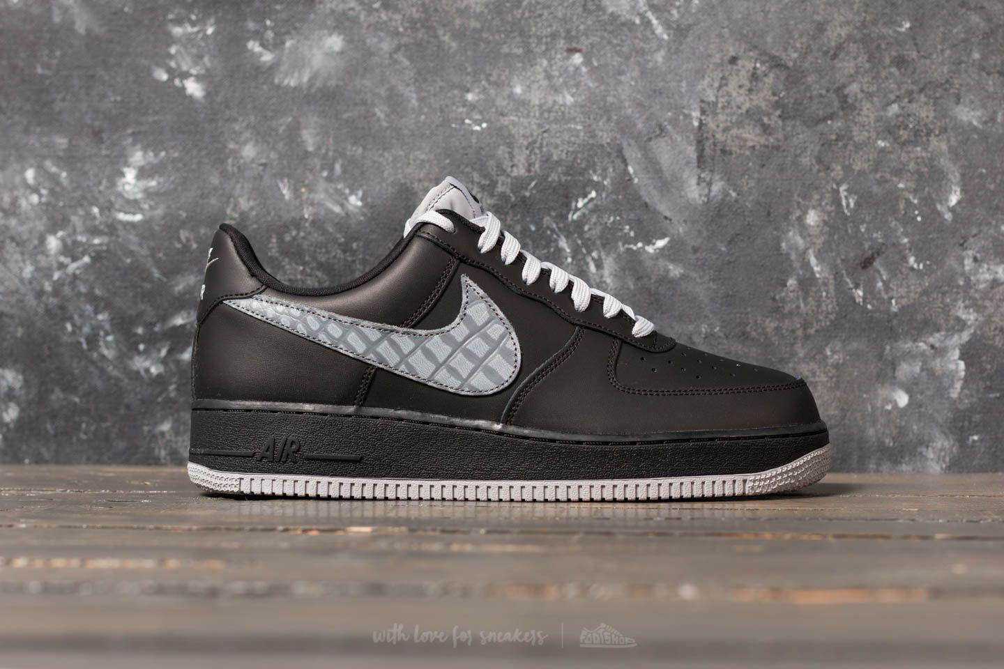 sports shoes 0298f 89fee Nike Air Force 1  07 Lv8 Black  Cool Grey  Dark Grey in Gray for Men ...