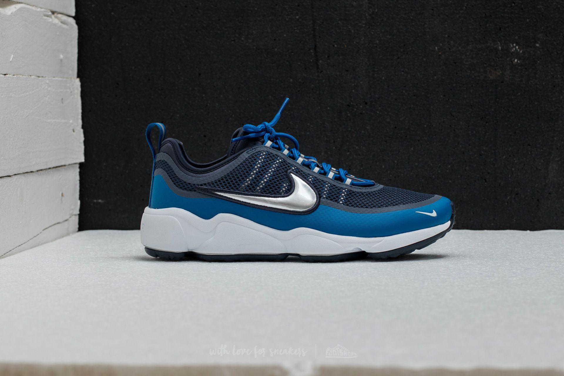 Lyst - Nike Zoom Spiridon Armory Blue  Metallic Platinum in Blue for Men 9bb556ea5b78