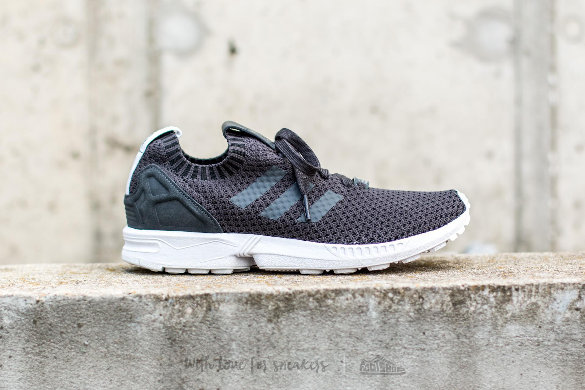 f002b22b72f4a Lyst - adidas Originals Adidas Zx Flux Primeknit Dgh Solid Grey  Dgh ...