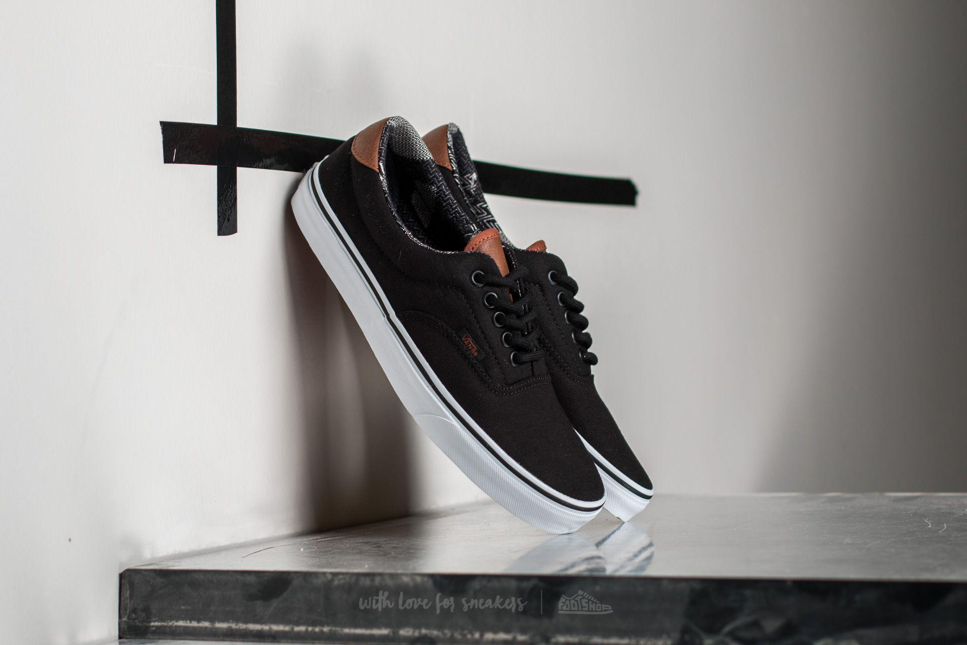 8ddeca02b2f1e9 Lyst - Vans Era 59 (c l) Black  Material Mix in Black for Men