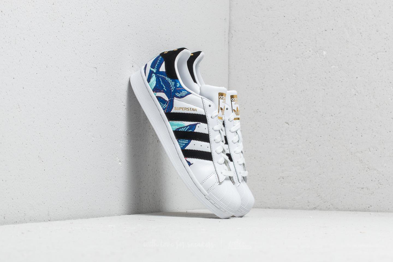 9cecb28be2ce Adidas Originals - Multicolor Adidas Superstar W Ftw White  Core Black   Metallic Gold - Lyst