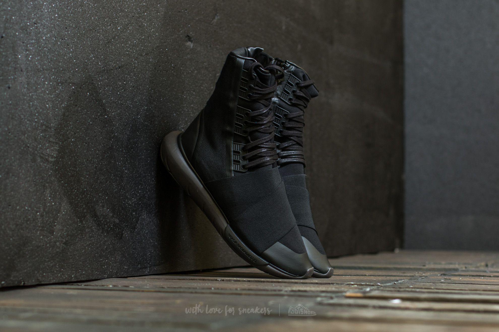 259ec5a93a262 Lyst - Y-3 Qasa Boot Core Black  Core Black  Utility Black in Black ...