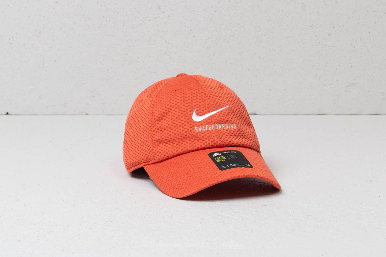 Lyst - Nike Sb Swoosh Mesh Heritage86 Cap Vintage Coral  White 4bf3005138091