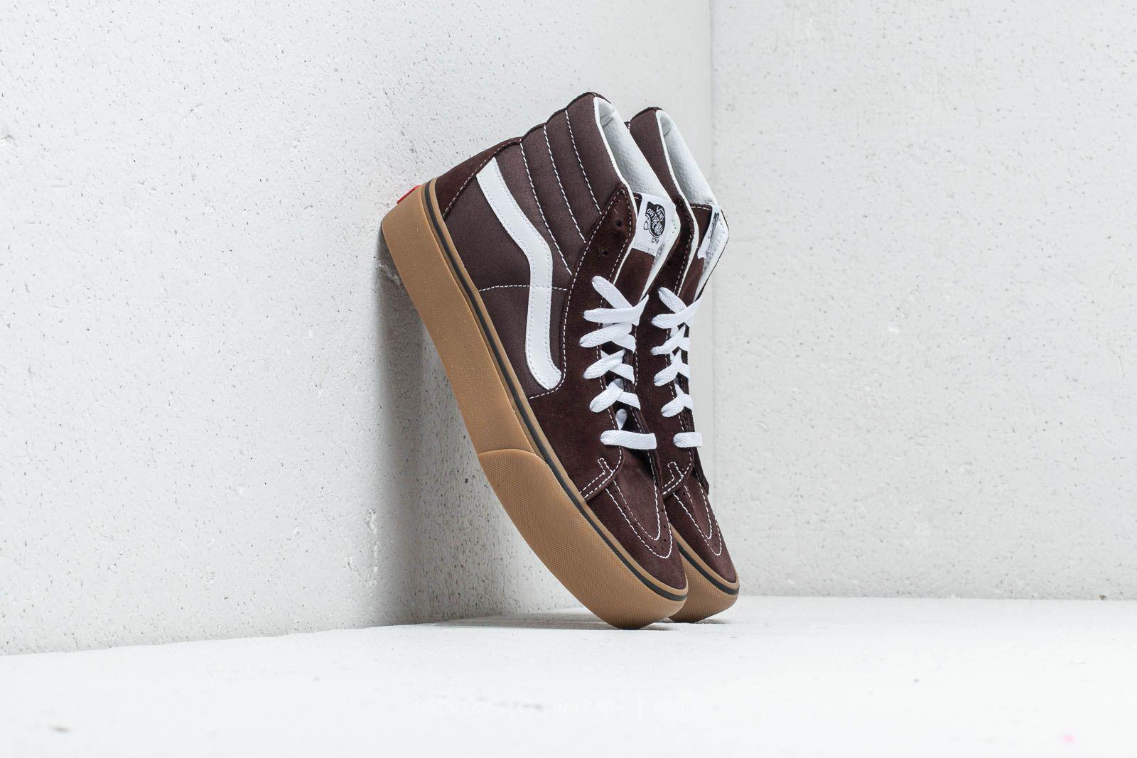 e9975a84dd6 Lyst - Vans Sk8-hi Platform 2 (gum) Chocolate Torte  Tru in Brown ...