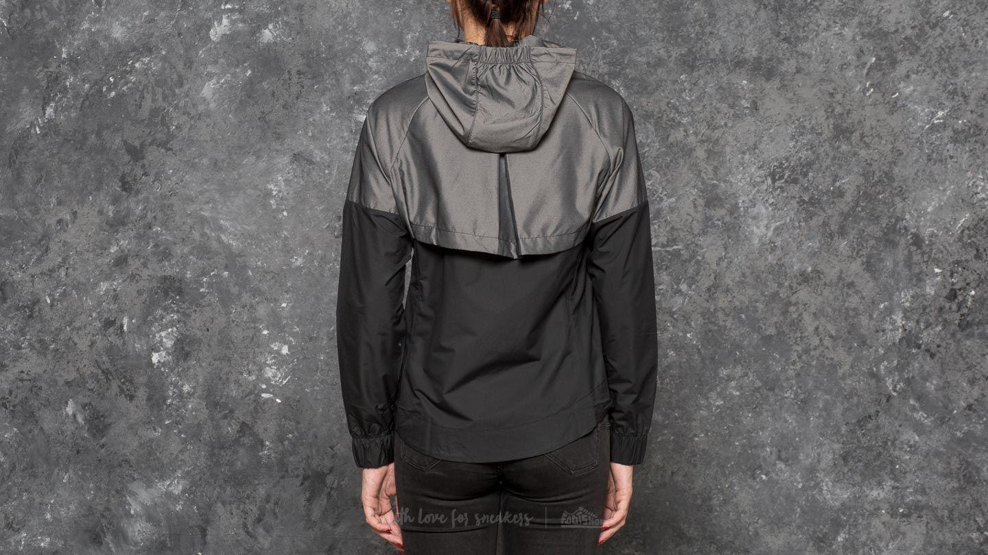 8615175c409 Nike Sportswear Windrunner Jacket Chambray/ Black in Black - Lyst