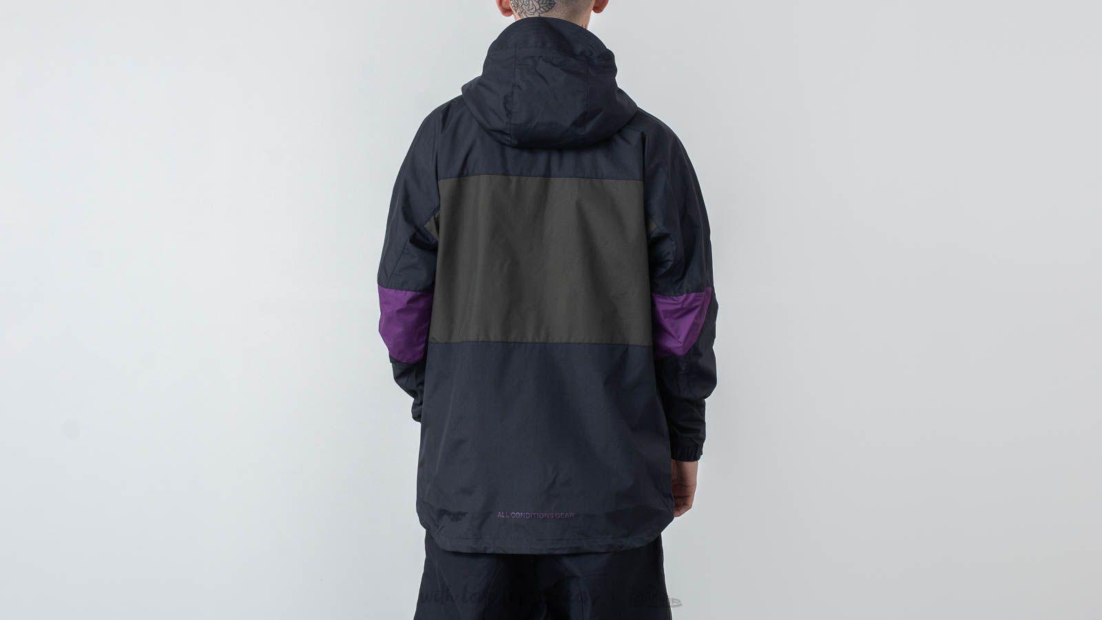 d8a586d49 Nike Acg Anorak Black/ Sequoia in Black for Men - Lyst