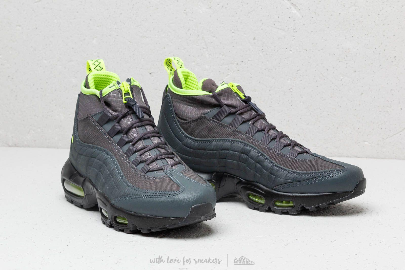 size 40 8407f 8aaa0 Nike Air Max 95 Sneakerboot Anthracite  Volt-dark Frey for Men - Lyst