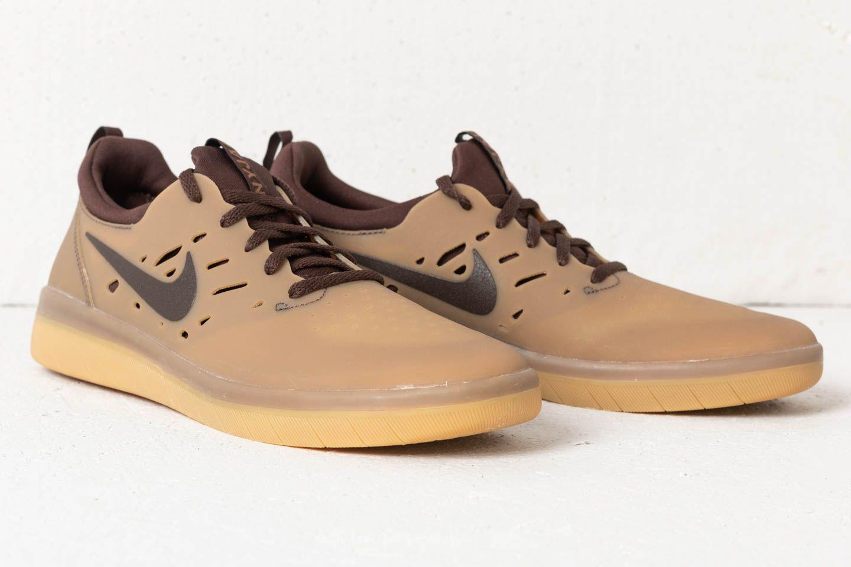 9b848dd6c73d Lyst - Nike Sb Nyjah Free Gum Dark Brown  Baroque Brown in Brown for Men