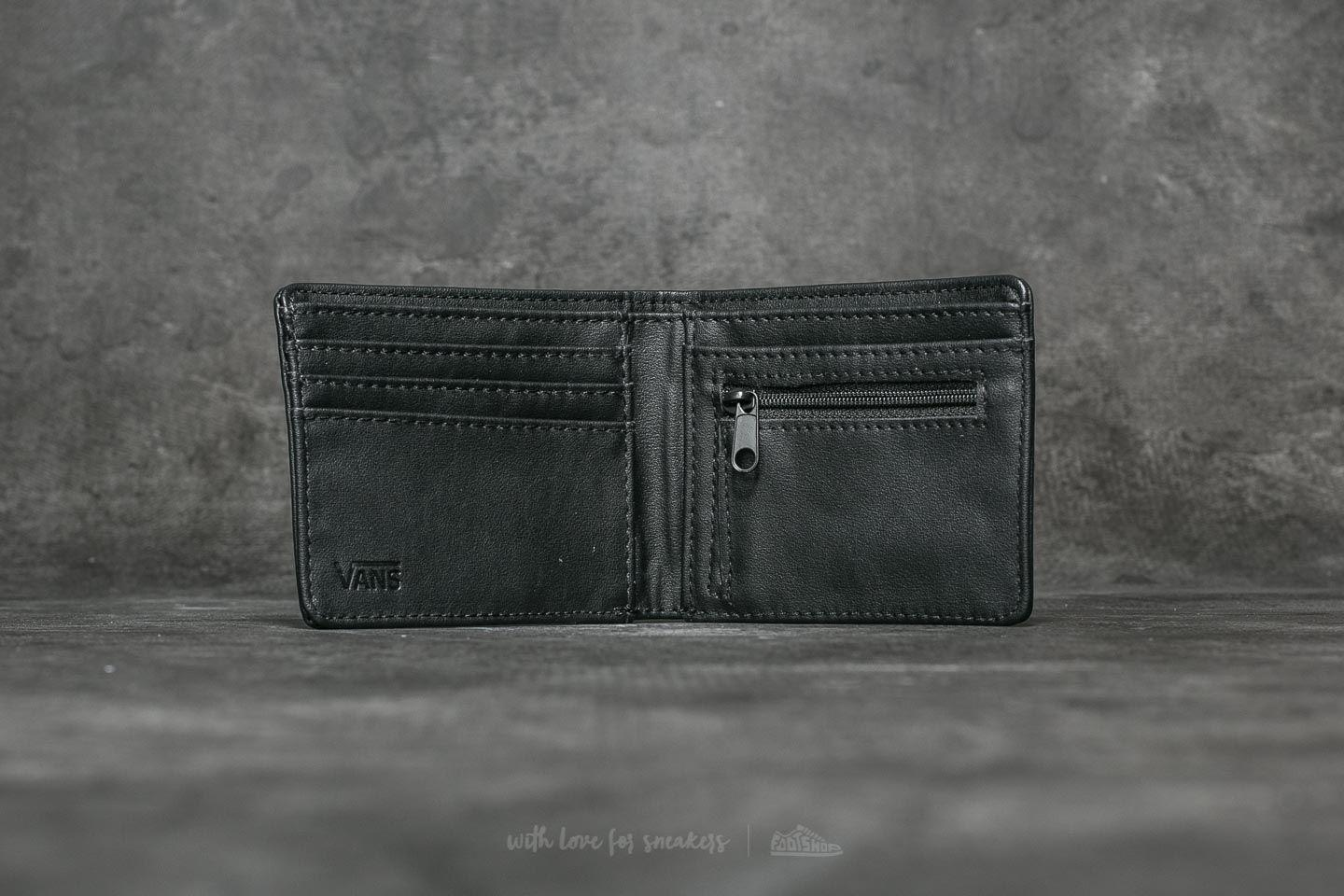 2d32c70da013da Lyst - Vans Full Patch Bifold Wallet Black in Black for Men