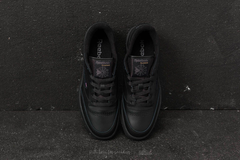 9e9867f6e04 Lyst - Reebok Reebok Club C 85 Black  Charcoal in Black for Men