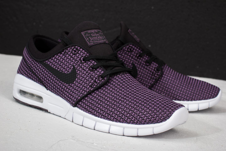 9da355b788ca Lyst - Nike Sb Stefan Janoski Max Black  Black-pro Purple-white in ...