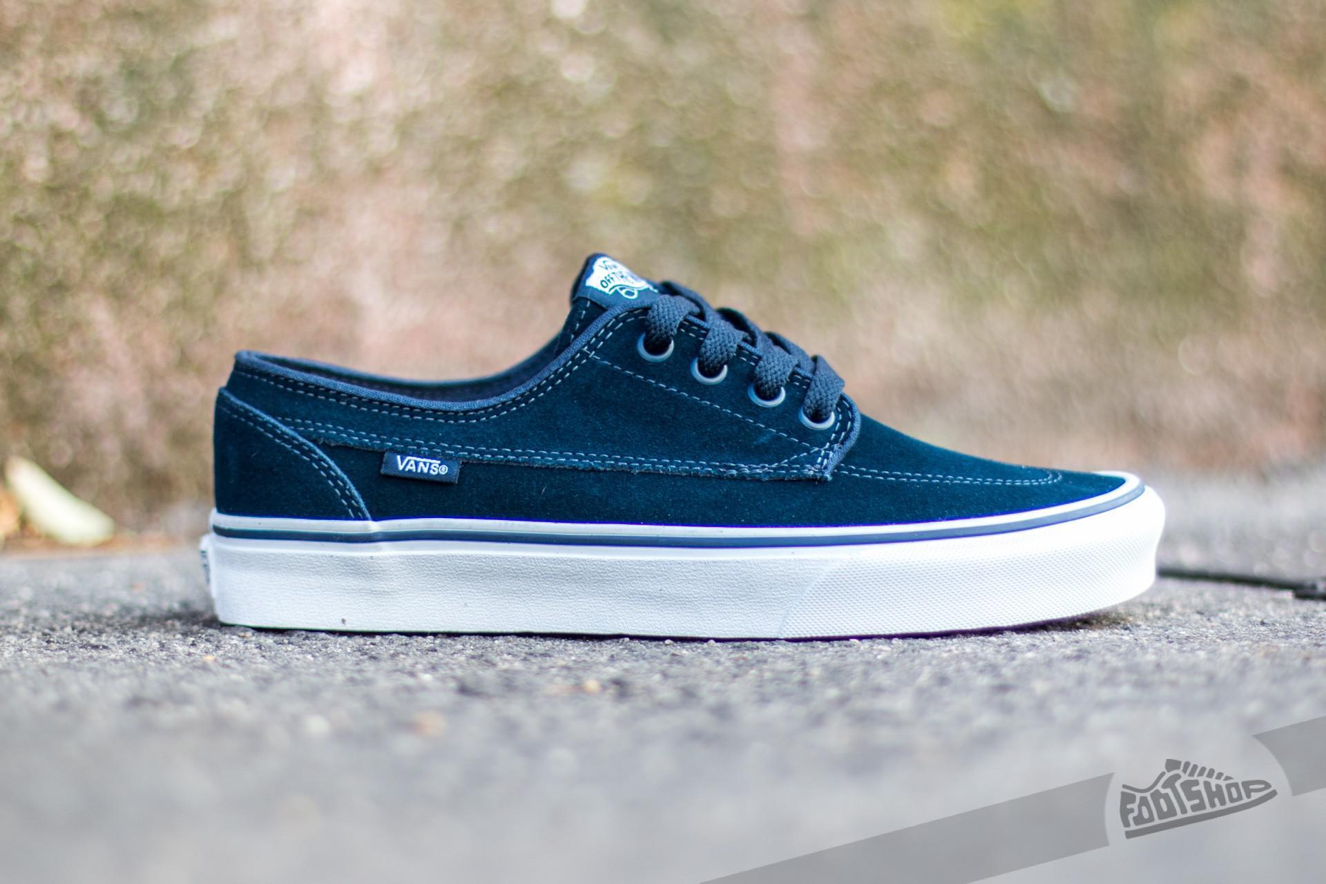 Unisex Shoes Vans Brigata (C&C) Dress Blues/True White