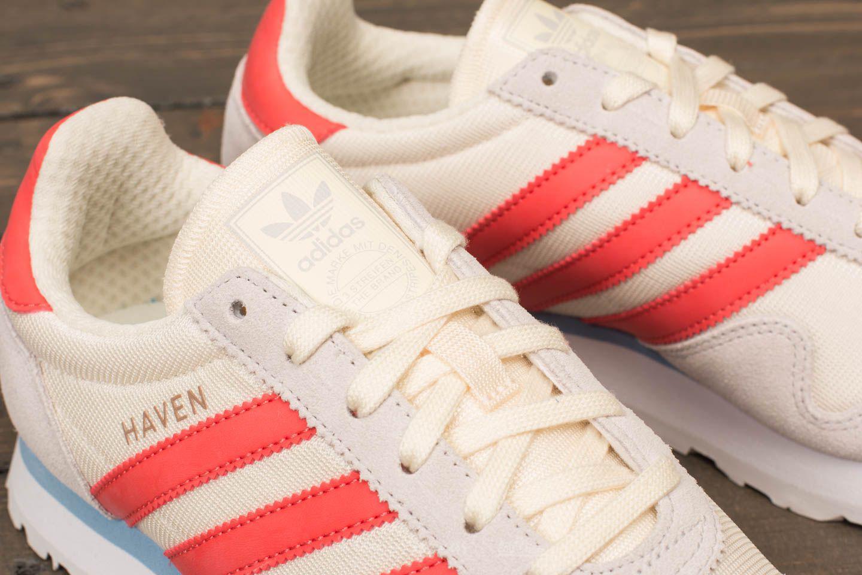 738766e9dbd Lyst - adidas Originals Adidas Haven W Core White  Trace Scarlet ...