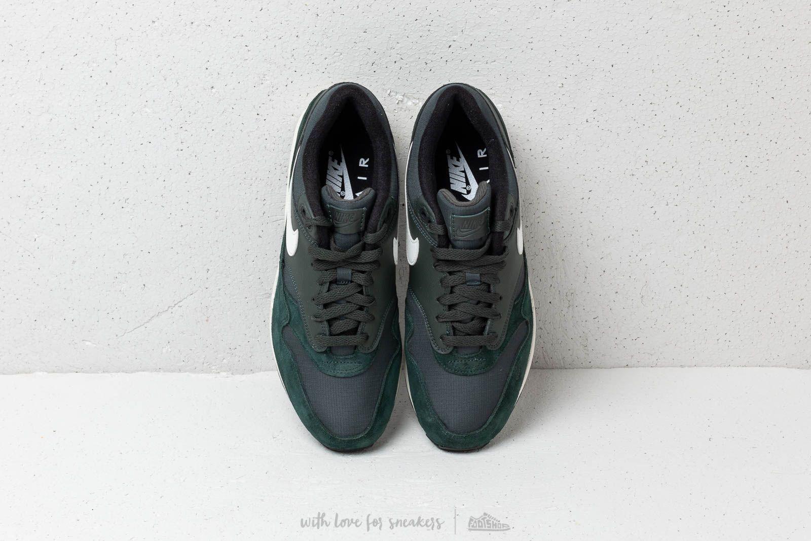 the best attitude ceb96 3a457 Nike - Air Max 1 Outdoor Green Sail-black for Men - Lyst. View fullscreen