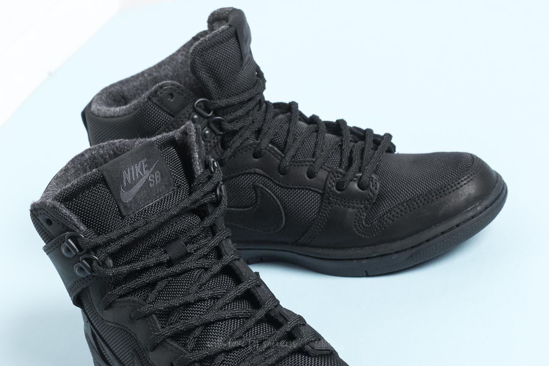 low priced 746e1 fd293 Nike Sb Zoom Dunk Hi Pro Bota Black  Black-anthracite in Black for ...