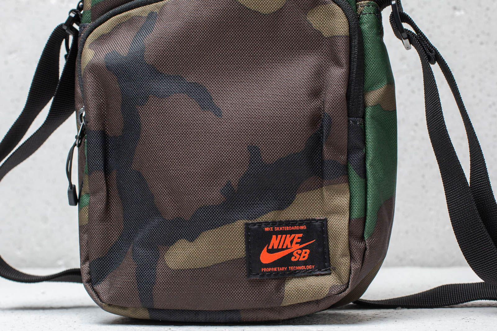 fa41c77ada84 Lyst - Nike Sb Heritage Small Items Backpack Camo Green in Green for Men