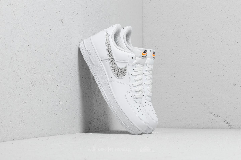 sale retailer 5c67d ea360 Nike Air Force 1 ́07 Lv8 Jdi Lntc White  White-black-total Orange in ...
