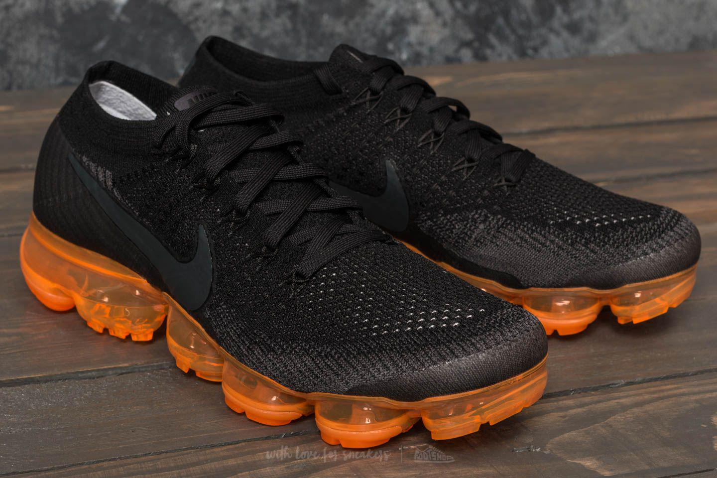 new style 9b11c d951c Lyst - Nike Air Vapormax Flyknit Black Pop Anthracite  Black  Rush ...