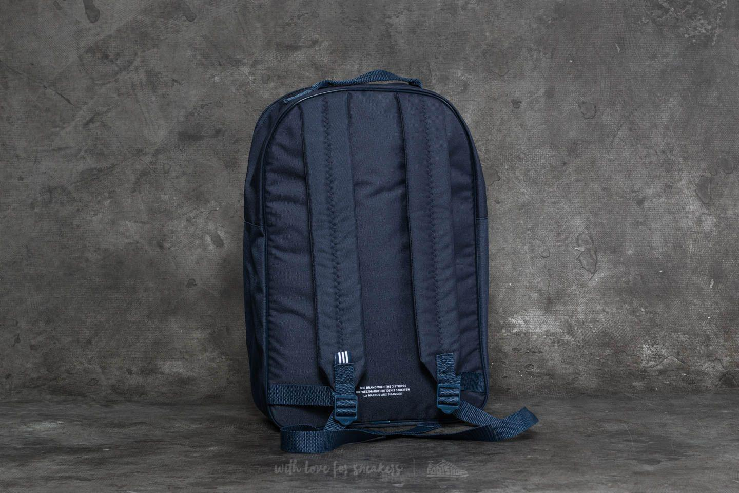 Adidas Originals - Blue Adidas Classic Trefoil Backpack Collegiate Navy for  Men - Lyst 1aacb565f426a