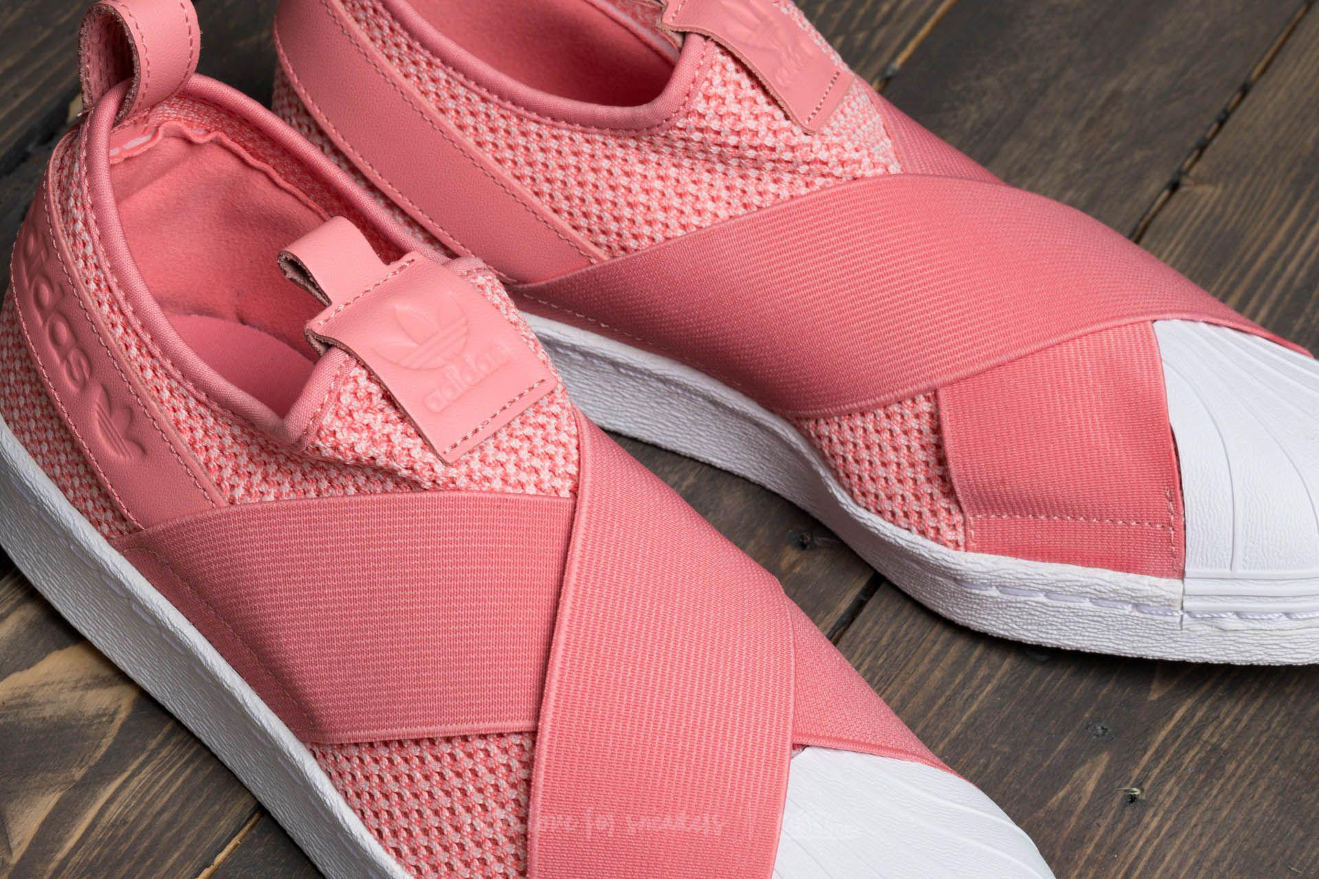 Lyst - adidas Originals Adidas Superstar Slip On W Tactile Rose ... 24a8af537