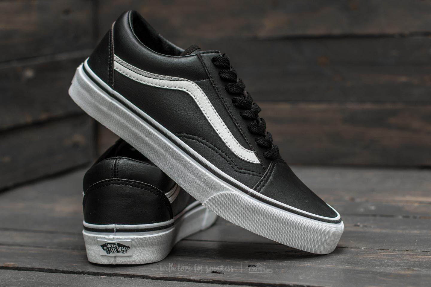 White Old Skool Tumble In Lyst True classic Vans Black Tw5qA0