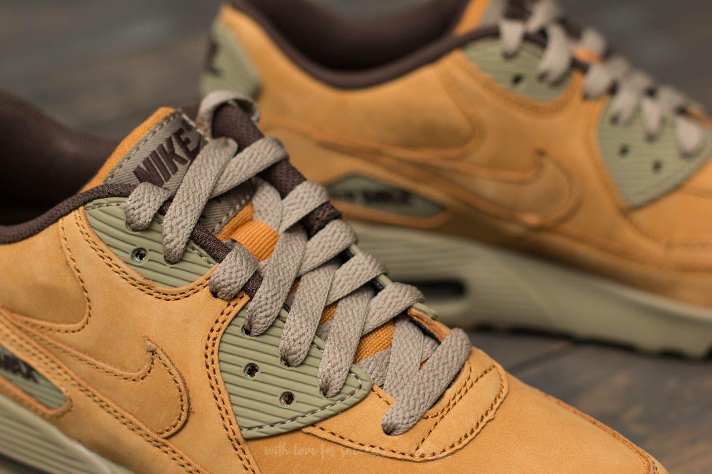 low cost 84014 27449 Nike Air Max 90 Winter Premium (gs) Bronze/ Bronze-baroque Brown - Lyst