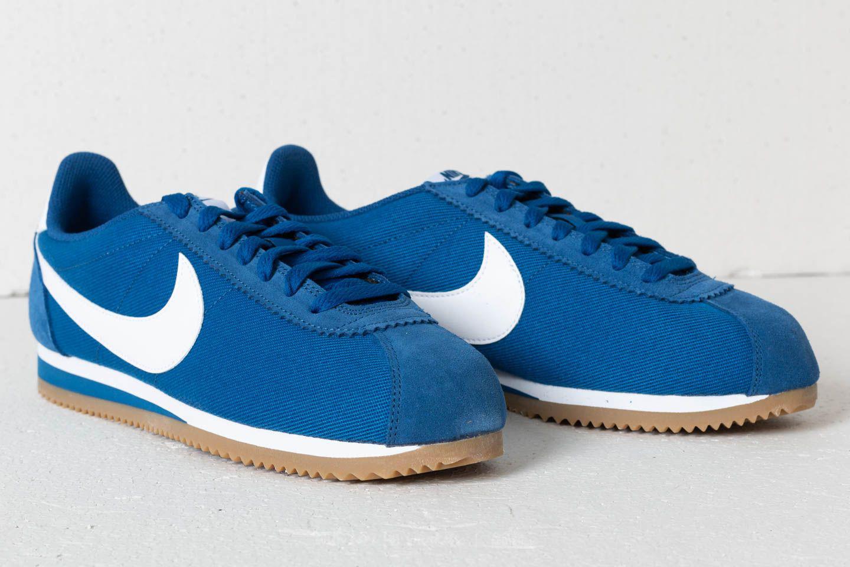 huge discount d7917 2160c ... low price nike classic cortez nylon gym blue white gum light brown for  men . view ...