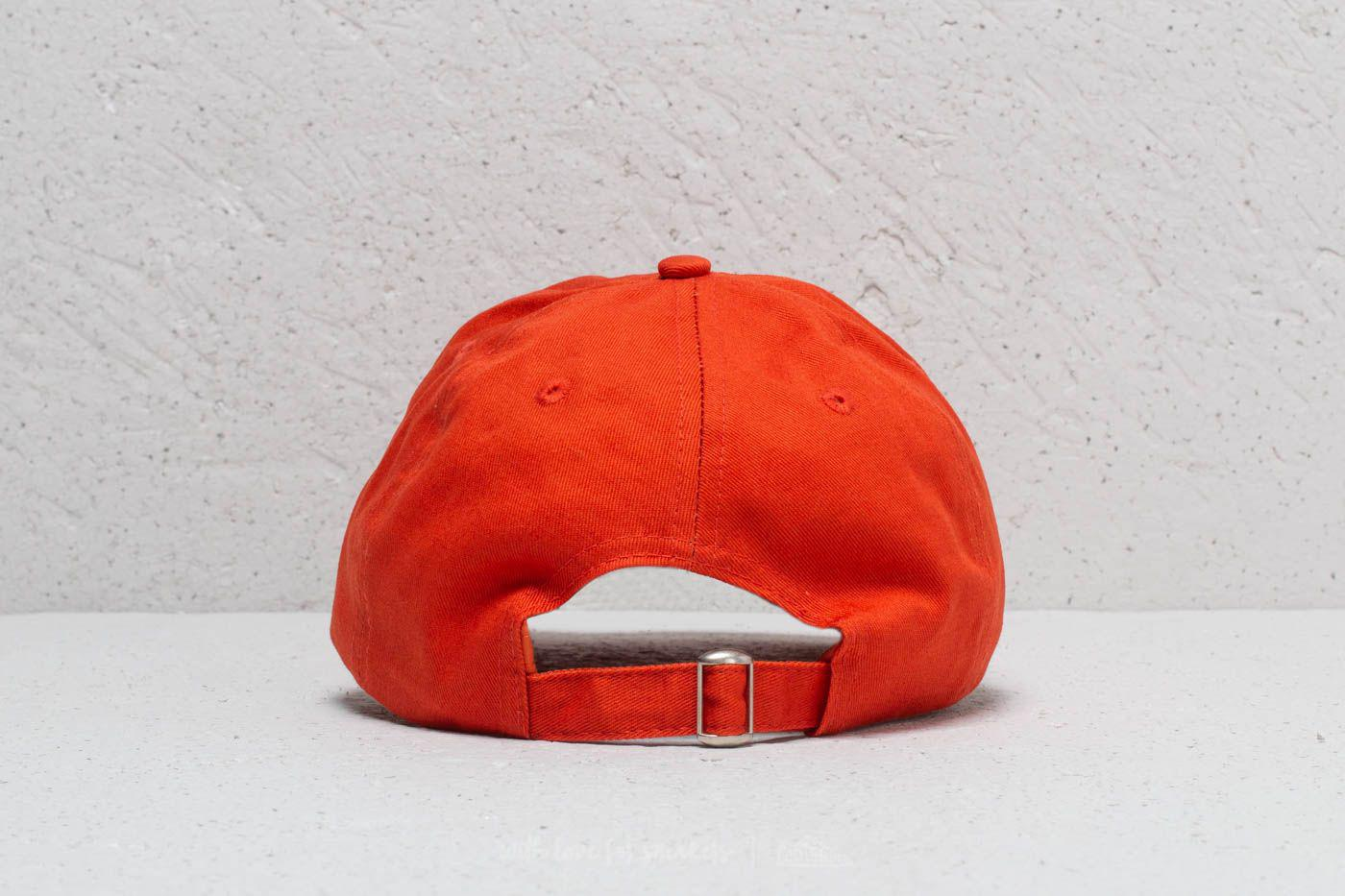 Lyst - Stampd Script Dad Hat Orange in Red for Men 3e28481a16f