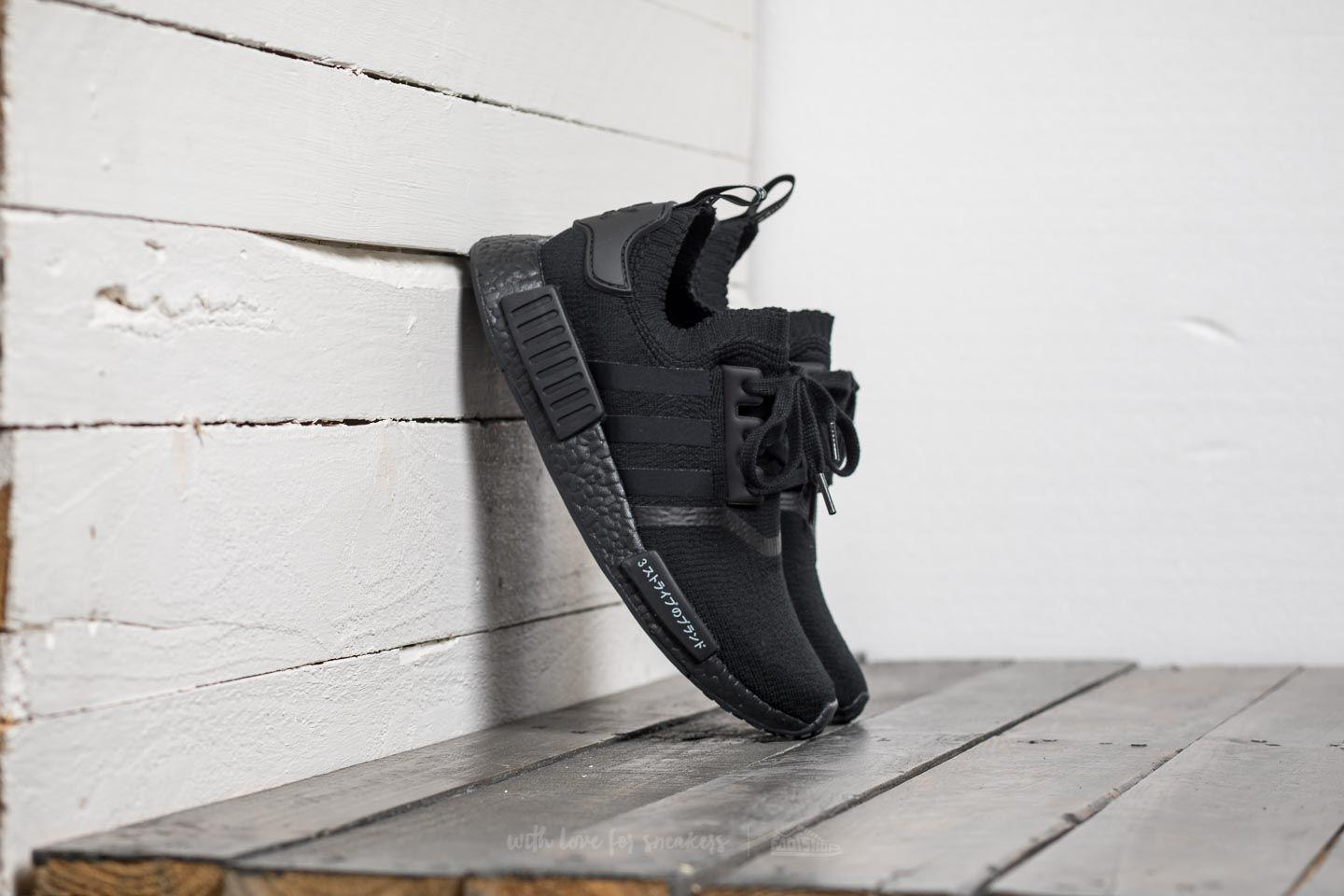 big sale d0a01 caf2a Lyst - adidas Originals Adidas Nmdr1 Primeknit Core Black Co