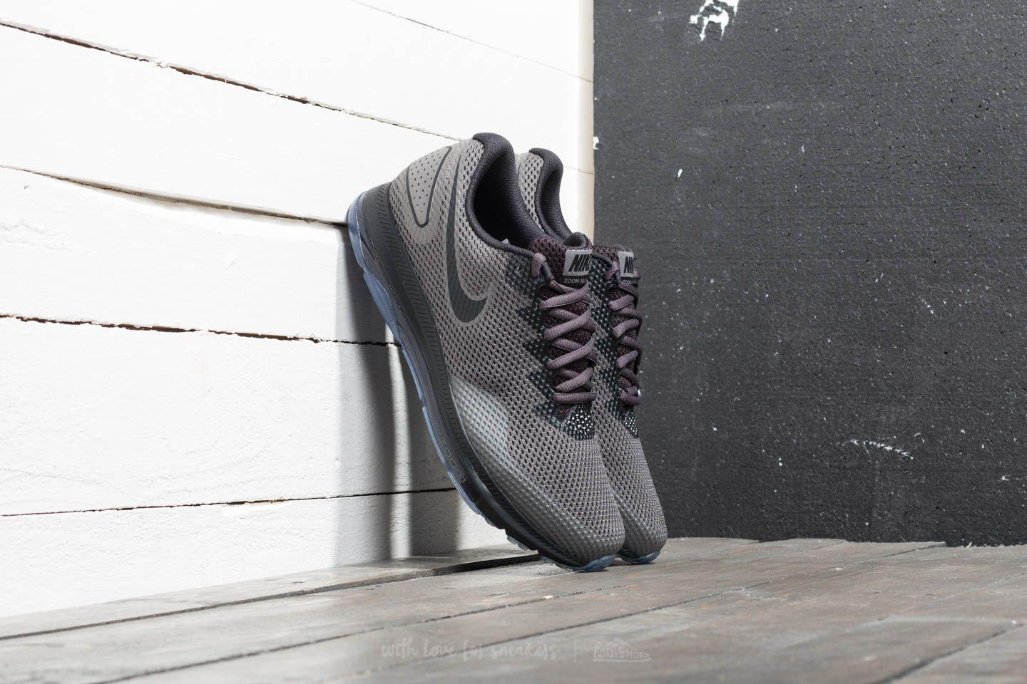 7a9d06e07111c Lyst - Nike Zoom All Out Low 2 Midnight Fog  Black-obsidian in Black ...
